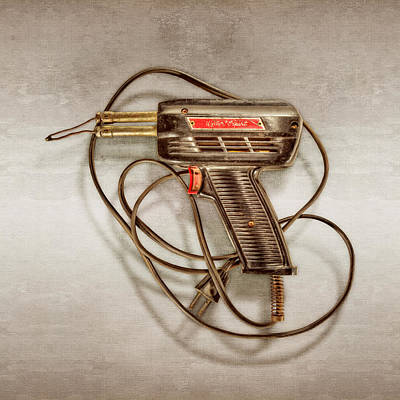 Soldered Photograph - Weller Expert Soldering Gun by YoPedro