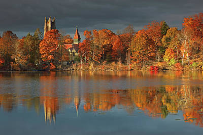 Photograph - Wellesley College by Juergen Roth