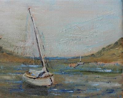 Painting - Wellfleet Beached by Michael Helfen