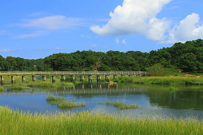 Wellfleet Photograph - Wellfleet Marsh Cape Cod by John Burk