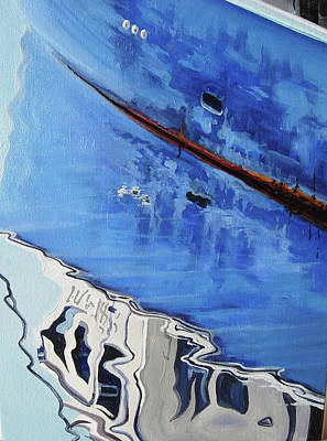 Painting - Wellfleet Reflections by Michael Cranford