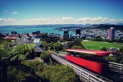 Photograph - Wellington Cable Car by Nisah Cheatham