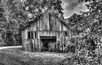 Photograph - Wells Barn 1 by Douglas Barnett