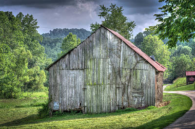 Photograph - Wells Barn 11 by Douglas Barnett