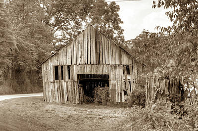 Photograph - Wells Barn 16 by Douglas Barnett