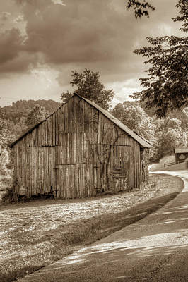 Photograph - Wells Barn 18 by Douglas Barnett