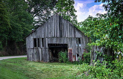 Photograph - Wells Barn 2 by Douglas Barnett