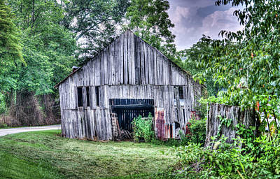 Photograph - Wells Barn 3 by Douglas Barnett