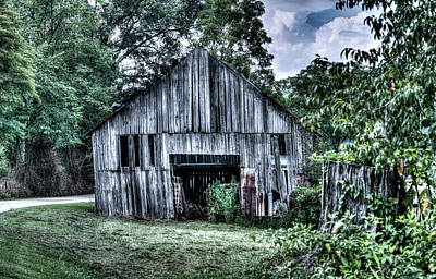 Photograph - Wells Barn 6 by Douglas Barnett