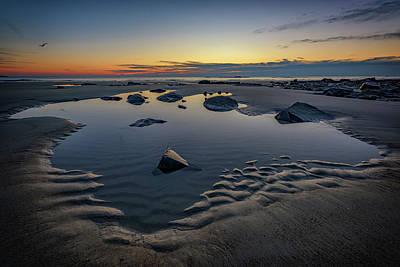Photograph - Wells Beach Solitude by Rick Berk