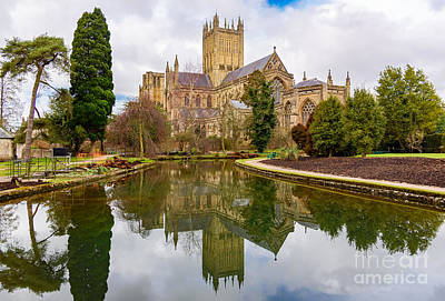 Photograph - Wells Cathedral by Colin Rayner