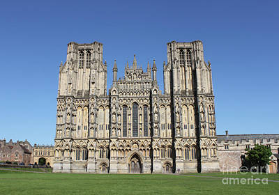 Photograph - Wells Cathedral by Linda Prewer