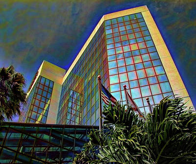 Photograph - Wells Fargo Building Sarasota by Richard Goldman