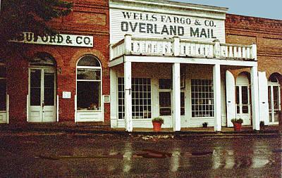 Wells Fargo Ghost Station Art Print
