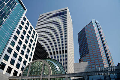 Photograph - Wells Fargo Plaza Towers by Jill Lang