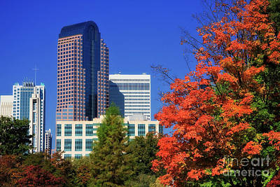 Photograph - Wells Fargo Tower In Charlotte by Jill Lang