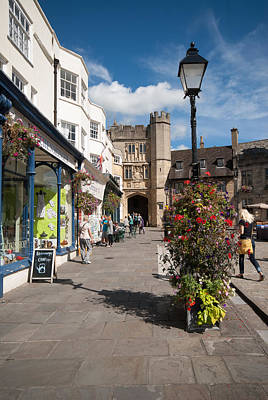 Photograph - Wells, Somerset by Colin Rayner