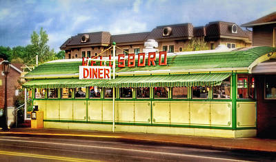 Photograph - Wellsboro Diner by Carolyn Derstine