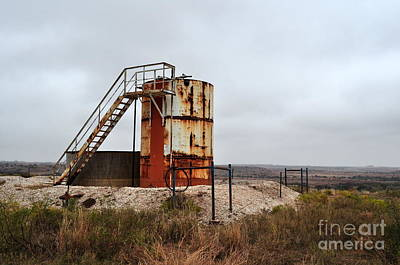 Photograph - Wellsite In Oklahoma by Anjanette Douglas