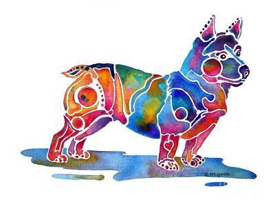 Welsh Corgi  Art Print