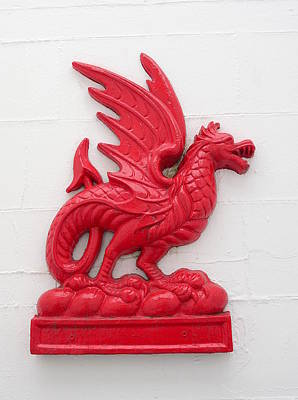 Photograph - Welsh Dragon Y Ddraig Goch by Richard Reeve