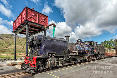 Welsh Highland Railway Print by Adrian Evans
