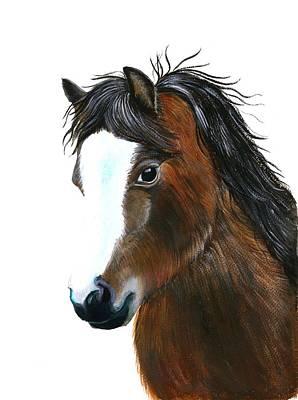 Painting - Welsh Pony by Alison Langridge