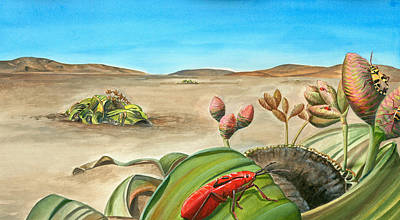 Animal Painting - Welwitschia by Logan Parsons