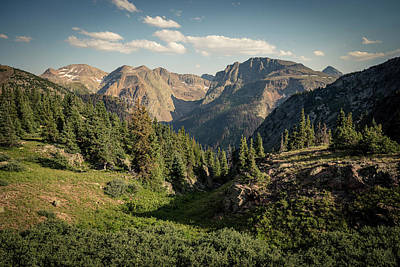 Photograph - Weminuche Wilderness by Whit Richardson