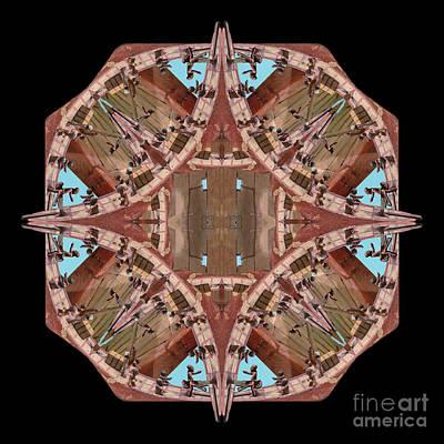 Wall Art - Photograph - Wenamun's Mandala by Karen Jordan Allen
