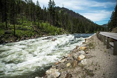Photograph - Wenatchee River West Of Leavenworth by Tom Cochran