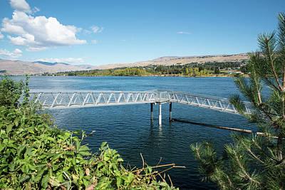 Photograph - Wenatchee Riverfront Park Moorage by Tom Cochran