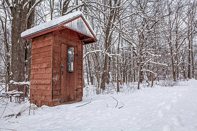 Outhouse Photograph - Wendell's Pride by Everet Regal