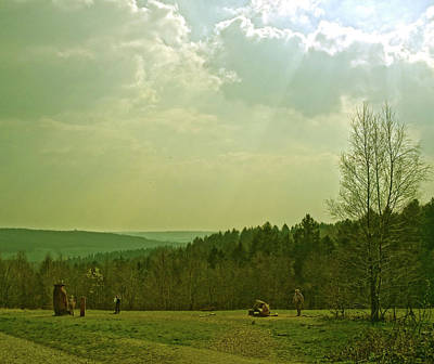 Photograph - Wendover Woods by Anne Kotan