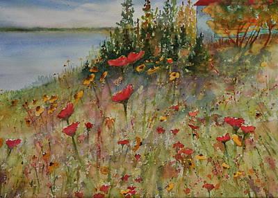 Wendy's Wildflowers Art Print