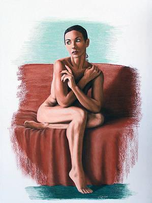 Joe Ogle Painting - Wenona  Exposed by Joseph Ogle