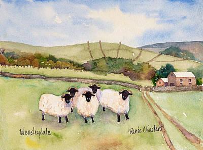 Wensleydale Sheep Original