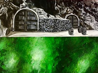 Painting - Wente Harmony by Joel Tesch