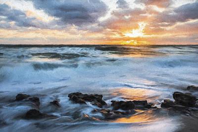 Landscape Digital Art - we're All III by Jon Glaser