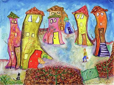 Painting - We're Home by Jim Taylor