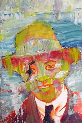 Painting - Werner Heisenberg by Fabrizio Cassetta