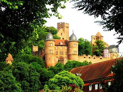 Digital Art - Wertheim Castle by Max DeBeeson