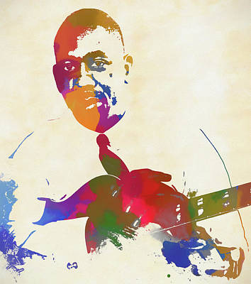 Painting - Wes Montgomery by Dan Sproul