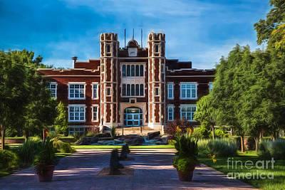 Wesleyan University Photograph - Wesleyan Memories by Jon Burch Photography