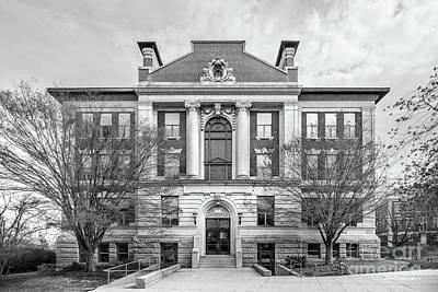 Photograph - Wesleyan University Allbritton Hall by University Icons