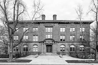 Wesleyan University Fisk Hall Art Print by University Icons
