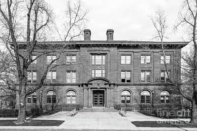 Photograph - Wesleyan University Fisk Hall by University Icons