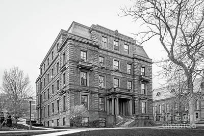 Wesleyan Photograph - Wesleyan University Judd Hall by University Icons