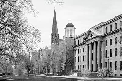 Wesleyan Photograph - Wesleyan University by University Icons
