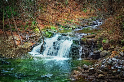 Photograph - Wesser Falls II by Debra and Dave Vanderlaan